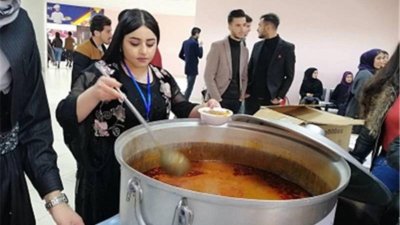 جشنواره غذاهای محلی کردستان عراق برگزار شد + عکس