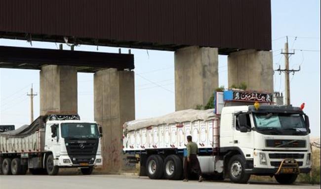 بیش از ۱۳۸ تن کالا از ایلام به عراق صادر شد