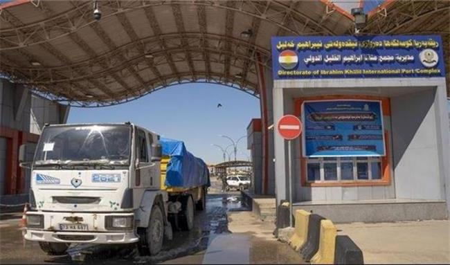 صادرات روزانه یک هزار و 300 کامیون حامل بار از ترکیه به عراق