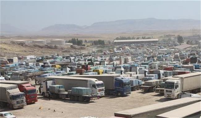 افزایش واردات کالا به اقلیم کردستان / محصولات غذایی در رتبه اول