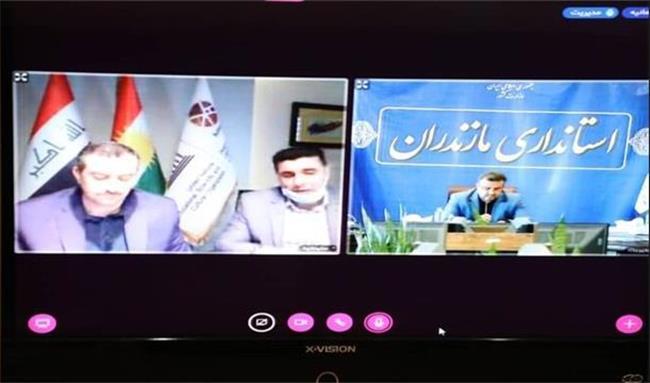 تاکید استانداران مازندران و سلیمانیه عراق بر صادرات دوجانبه / توافق برای امضای تفاهمنامه