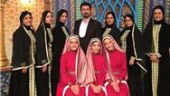 اجرای دف نوازی بانوان یزدی در تلویزیون کردستان عراق