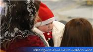 مراسم تولد حضرت عیسی (ع) در دهوک