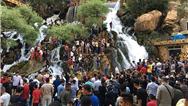 ورود 167 هزار گردشگر به اقلیم کردستان برای تعطیلات سال نو میلادی