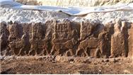 الهه های آشوری سوار بر موجودات افسانه ای کشف شدند/ اکتشاف تازه ایتالیایی ها در کردستان عراق