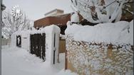 گزارش تصویری بارش سنگین برف در حاج عمران