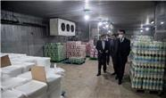 گزارش تصویری بازدید هیئت تجاری حلبچه از واحدهای تولیدی کرمانشاه