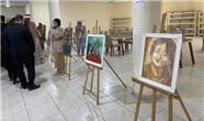 نمایشگاه آثار هنری زنان منطقه کلار + عکس